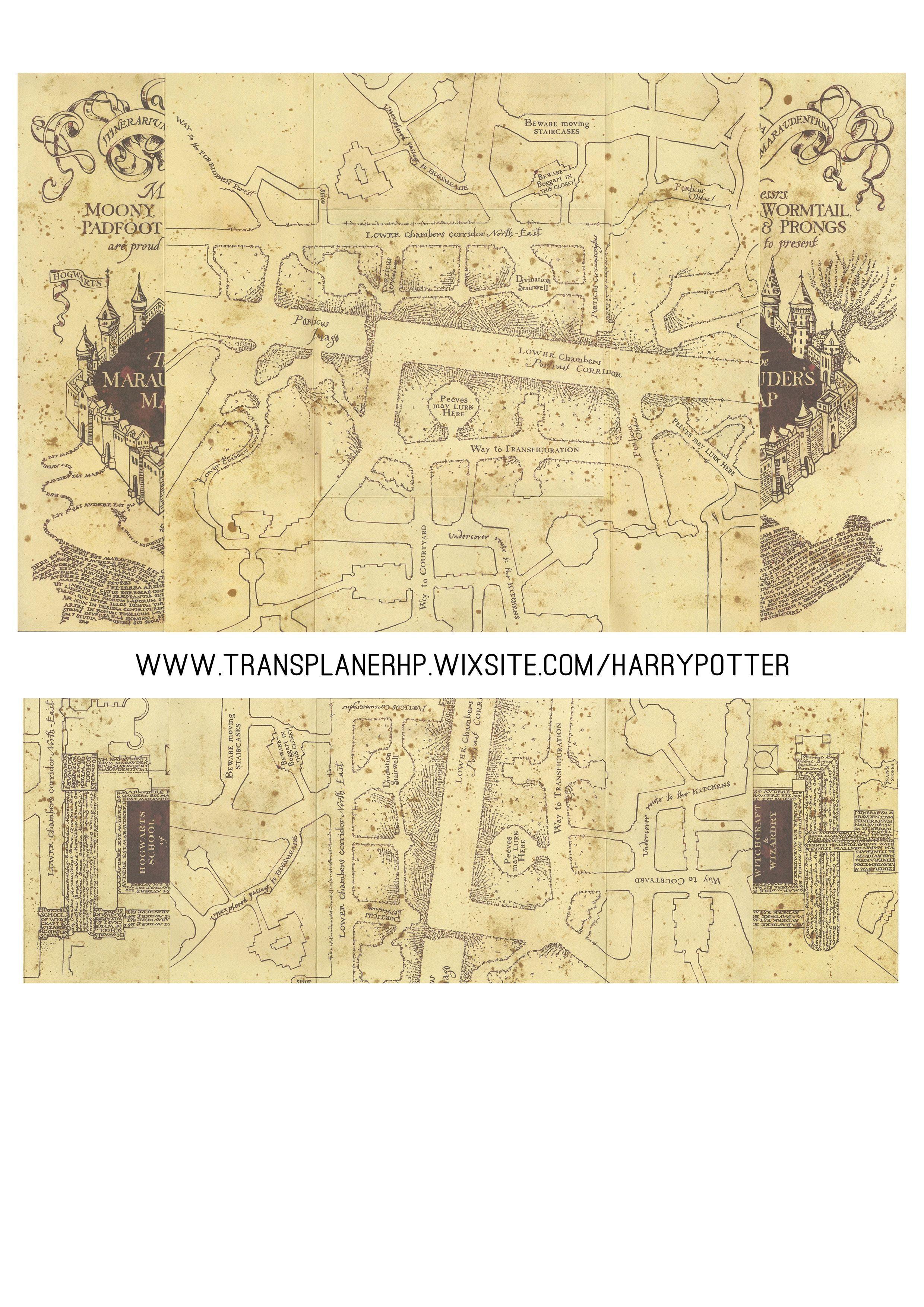 carte du maraudeur à imprimer DIY   LA CARTE DU MARAUDEUR en 2020 (avec images) | La carte du