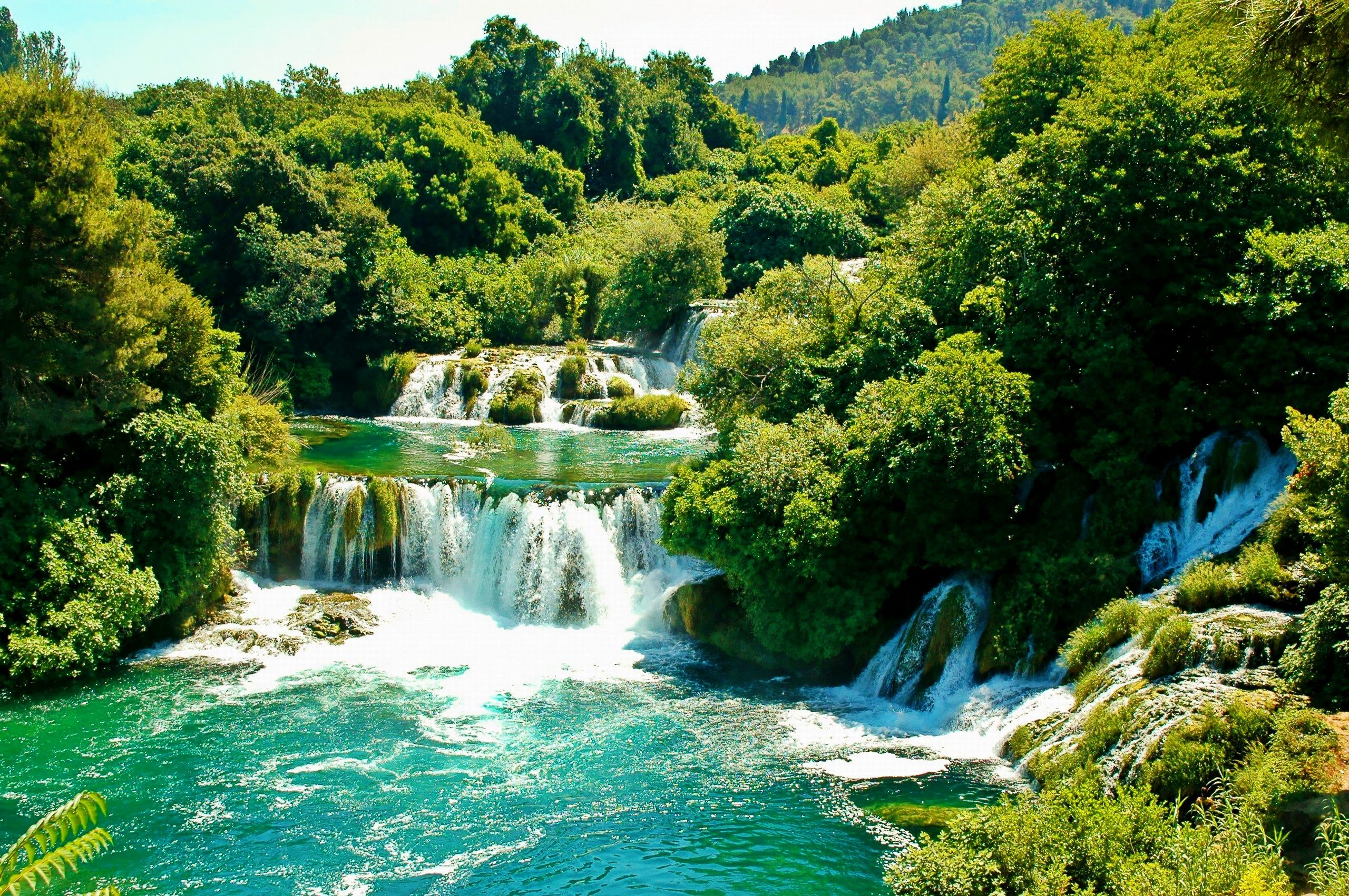 Croatia Waterfalls National Park Government support our