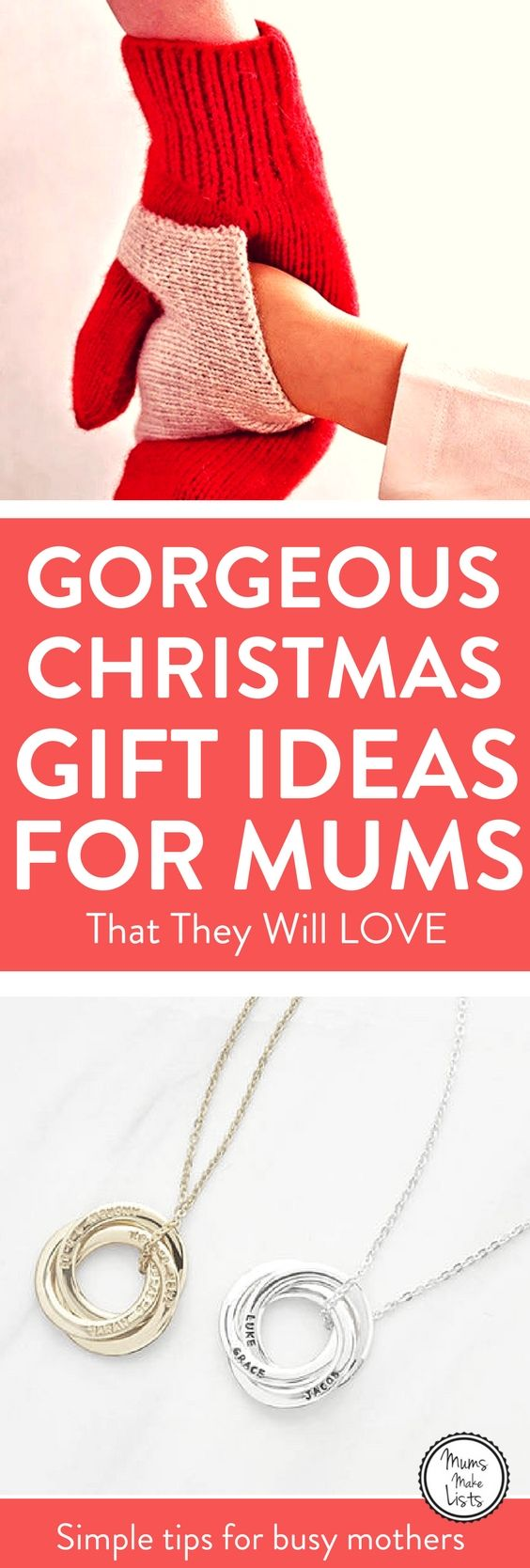 Christmas gifts for mums from daughters sons and husbands This is my Christmas gift wishlist as mom of the family Ive put together ideas for gifts that I would love to re...