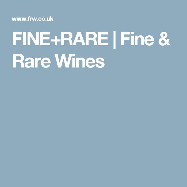 FINE+RARE | Fine & Rare Wines