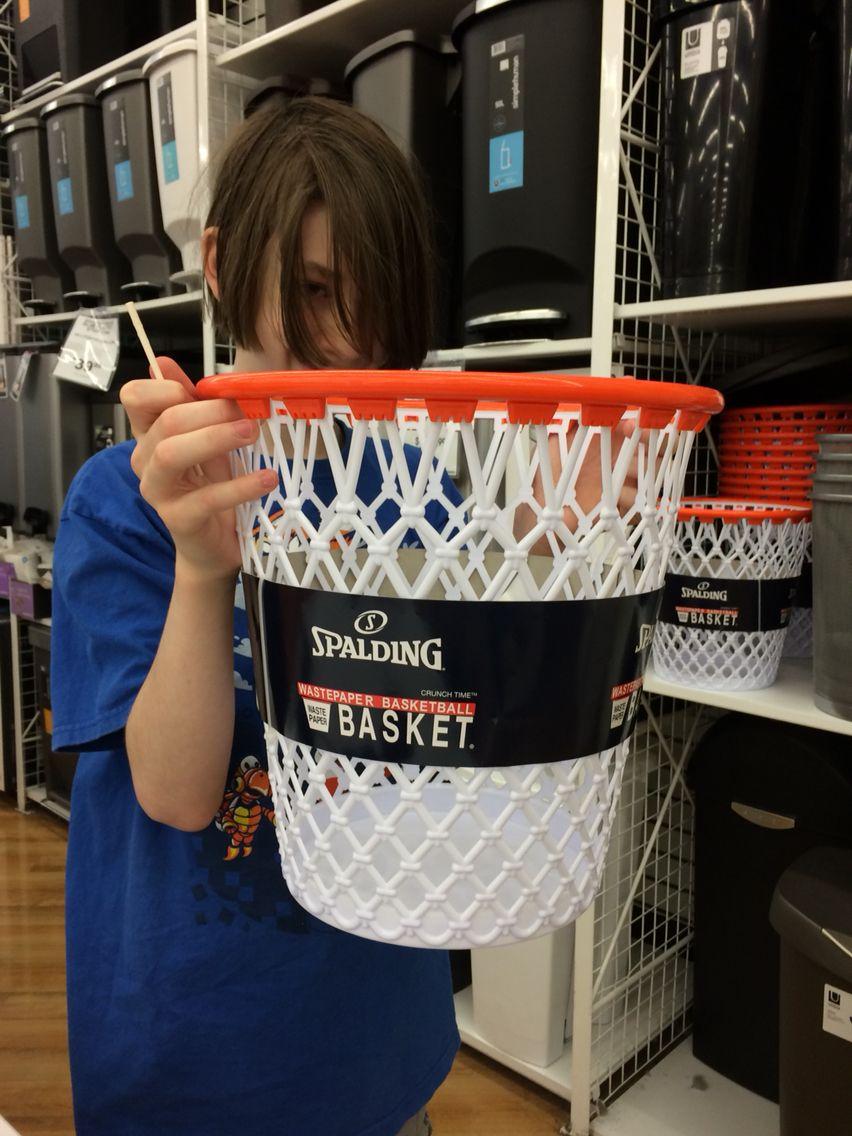 Basketball trash can Trash can, Basketball, My wish list