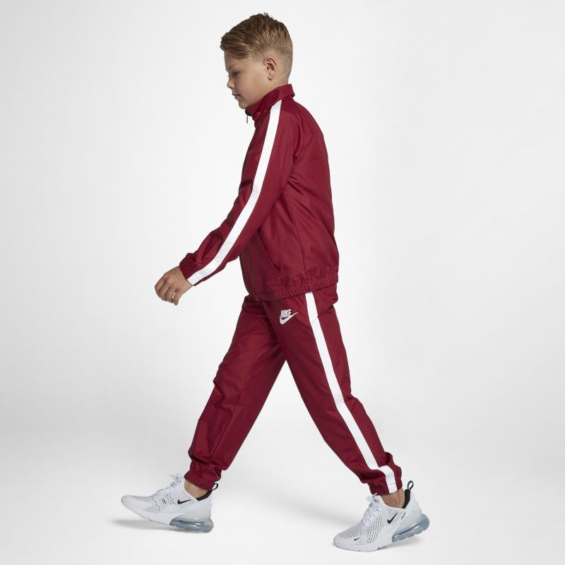 Nike Sportswear Older Kids' (Boys') Tracksuit Red