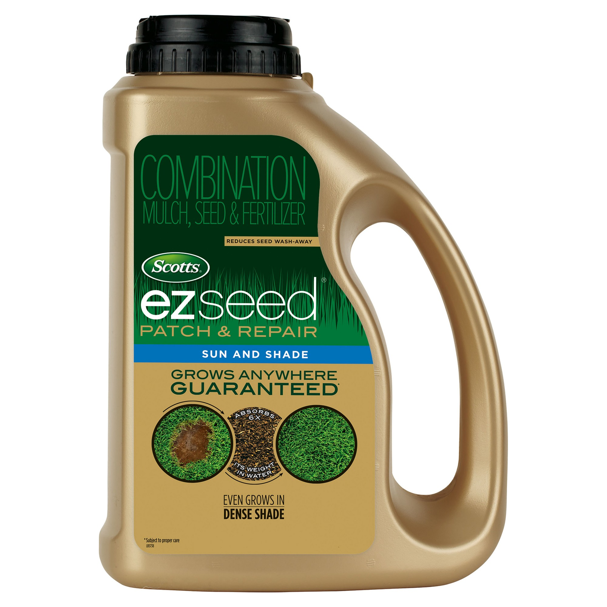 Scotts Ez Seed Sun Shade 3 75lb Jug Bermuda Grass Seed