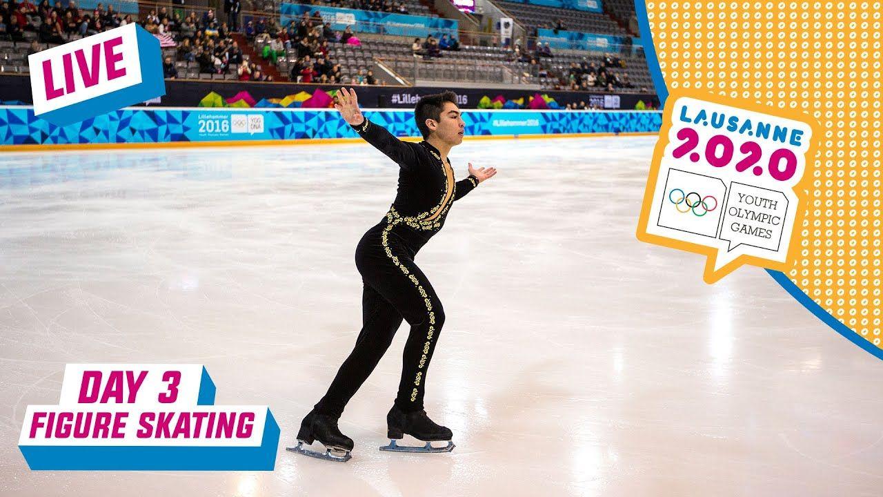 LIVE Figure Skating Men's Single Free Programme Day