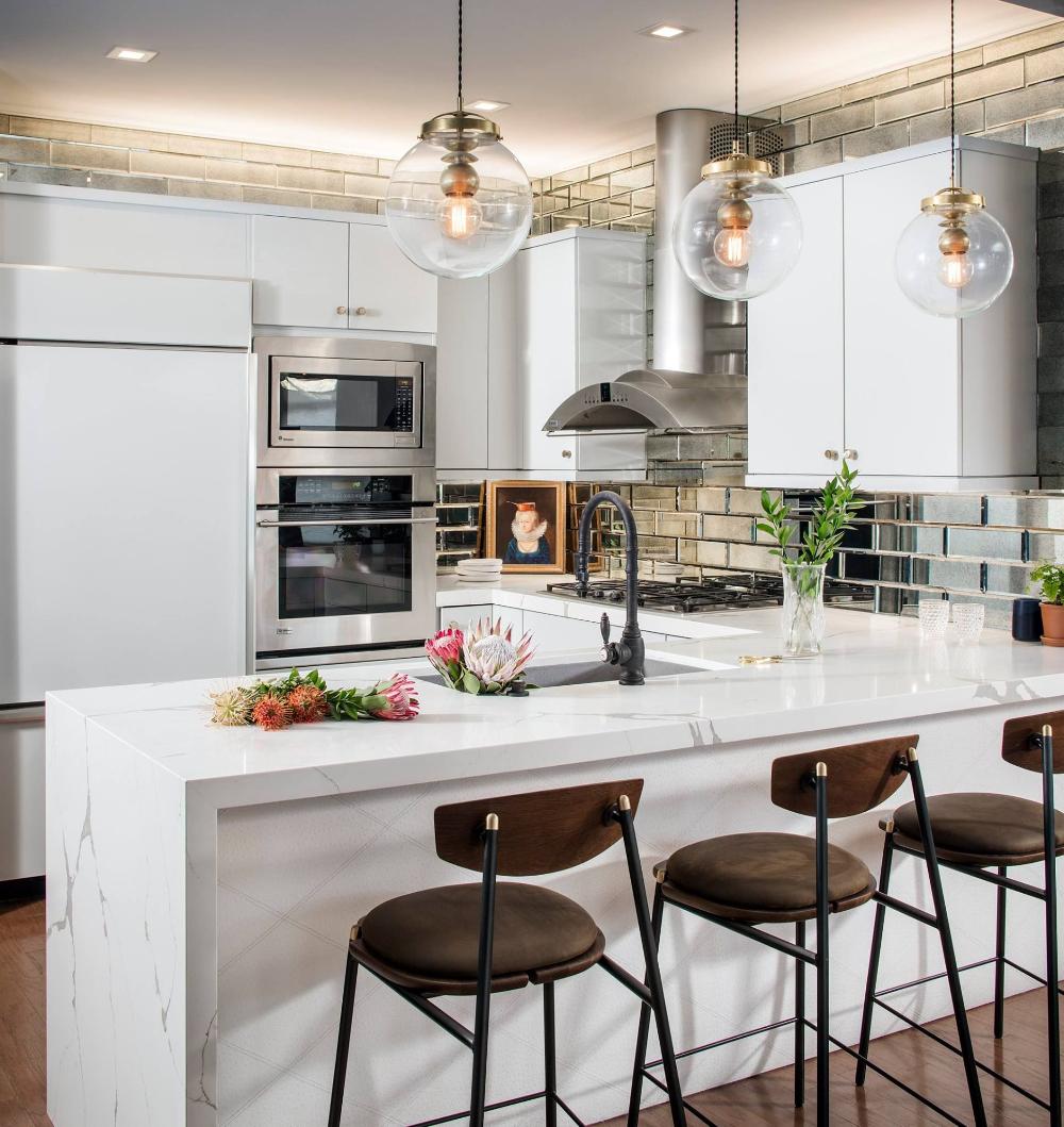 these kitchen peninsulas are gorgeous and functional kitchen backsplash inspiration on small kaboodle kitchen ideas id=19915