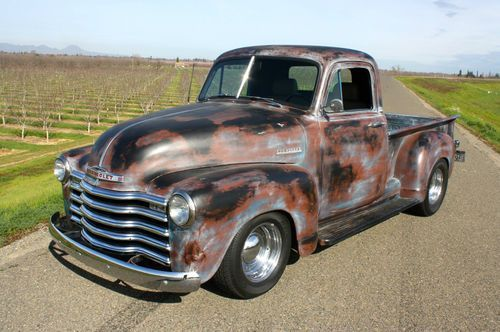 1952 Chevrolet Pickup V8 Hot Rod Rat Rod Driver 1949 1950 1951 1953 1954 Us 16 500 00 Image 1 Classic Pickup Trucks Chevy Pickup Trucks Chevrolet Pickup