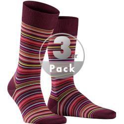 Photo of Falke men's series microblock, socks, cotton, multicolour striped multicolor falcon