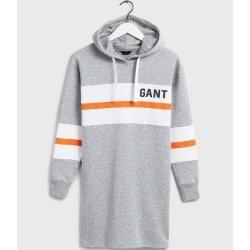 Photo of Gant Graphic Block Stripe Kleid (Grau) Gant