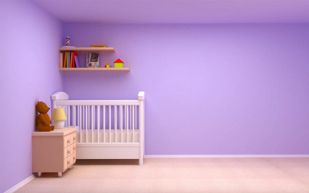 En su versi n m s suave el lila es el color id neo para decorar la habitaci n de los beb s es - Shiade sofas ...