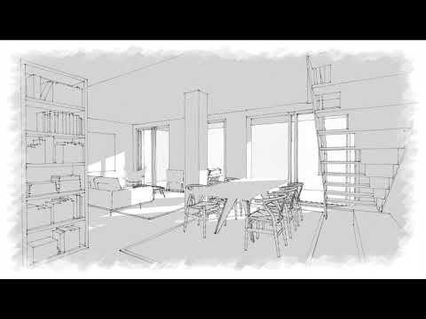 3D Animation maquette of a interior refurbishment in Sitges | Rardo-Arch...