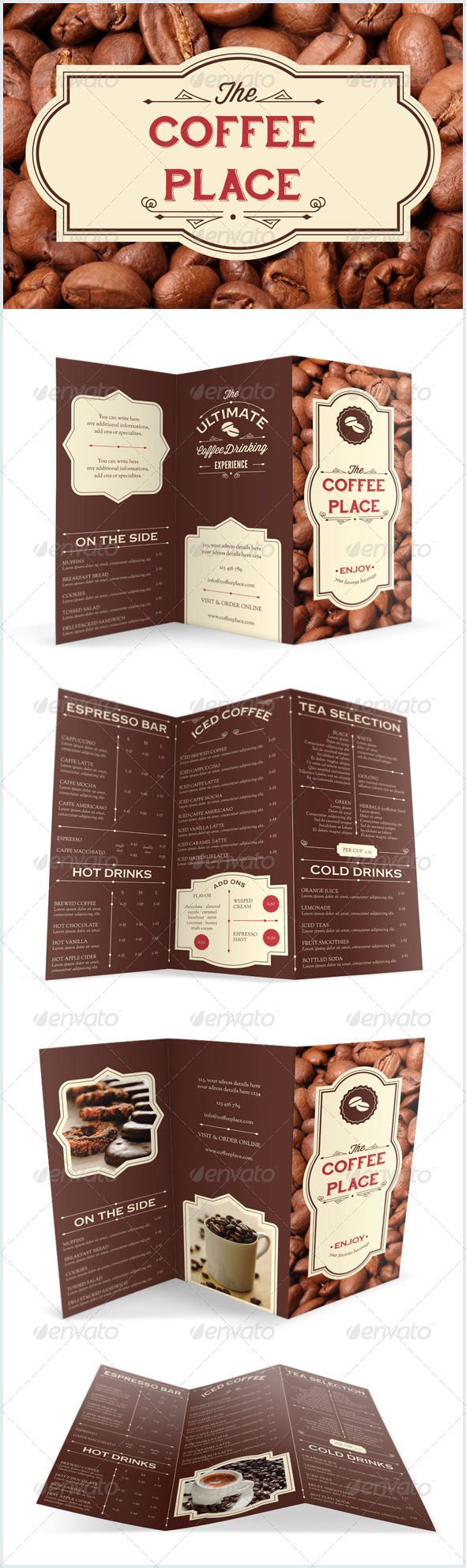 Designs Donut Shop Needs New Menu Design Menu Contest By Alina S Coffee Shop Menu Menu Design Donut Shop