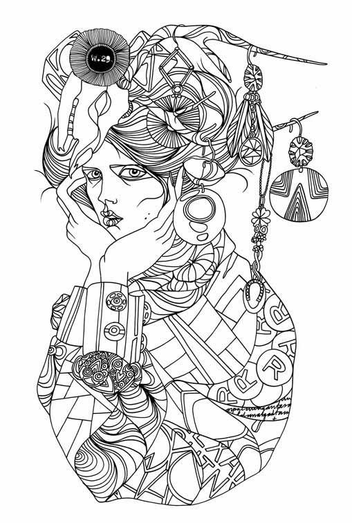 Liselotte Watkins   dibujo y mas   Pinterest   Gitano, Vestuarios y ...