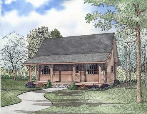 House Plan Square Feet Cottage House Plans Log Cabin Plans