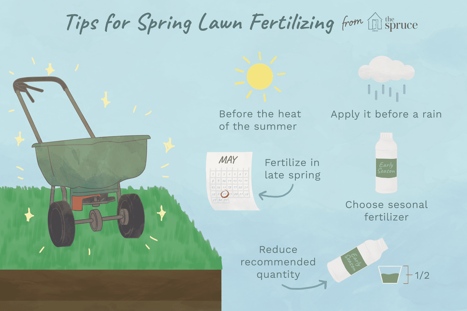 When Should You Ly Spring Fertilizer Lawn How To