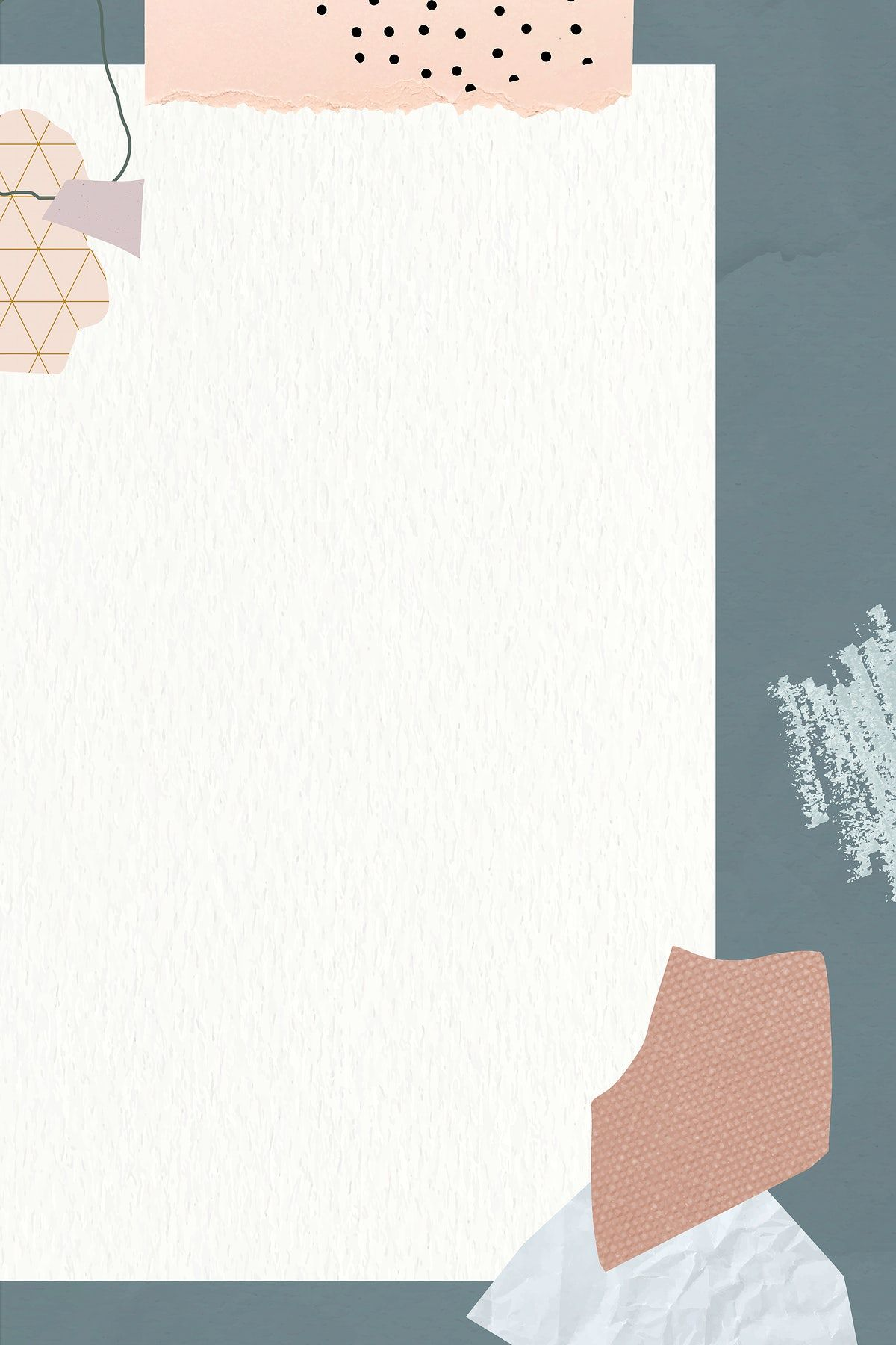 Download premium vector of Bluish gray frame with beige background vector by Nunny about pastel torn design, backdrop, background, beige, and blank 1214279
