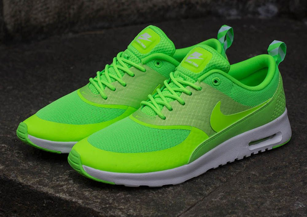 nike air max thea print flash lime