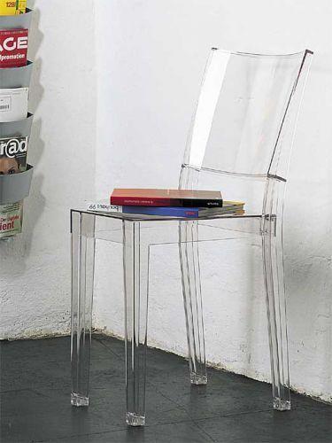 Robust, Kratzfest, Widerstandsfähig Und Natürlich Wunderschön: Der Transparente  Stuhl La Marie Von Philippe Starck Von Kartell.