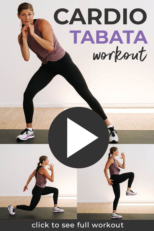 10-Minute Cardio Kickboxing Tabata Workout | Nourish Move Love