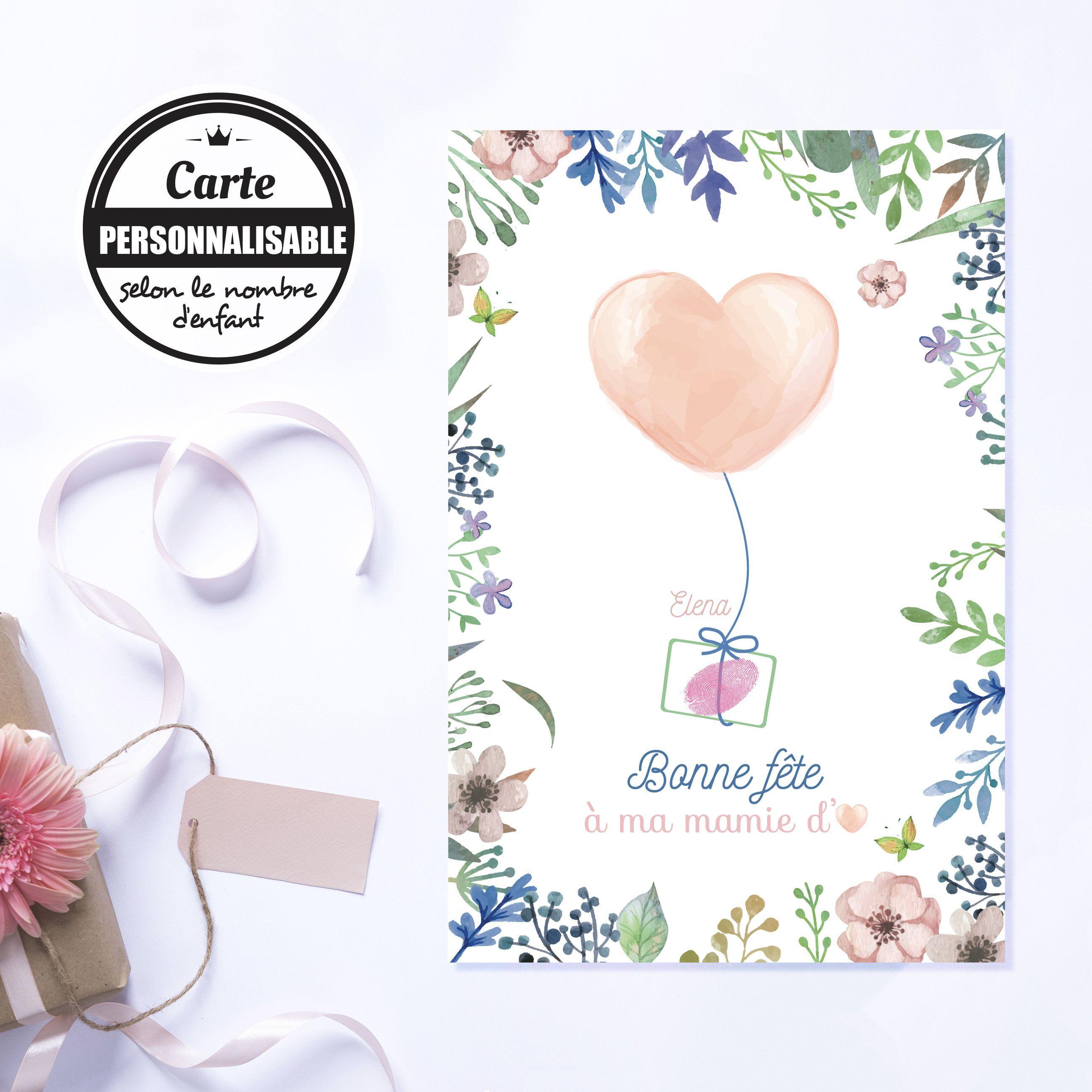Fete Des Meres Cadeau Maman Carte Personnalisee Pour Maman