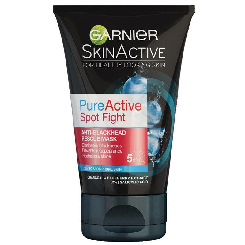 Buy Garnier Pure Active 3 In 1 Charcoal Mask 150ml Online At Chemist Warehouse Combinationskinmask Garnier Skin Active Garnier Skin Care Skin Care