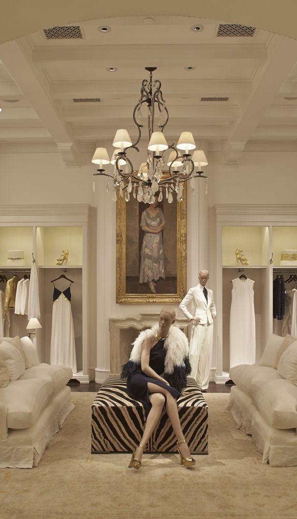 bae8e5f450f Ralph Lauren Store in São Paulo. I would love this as a closet