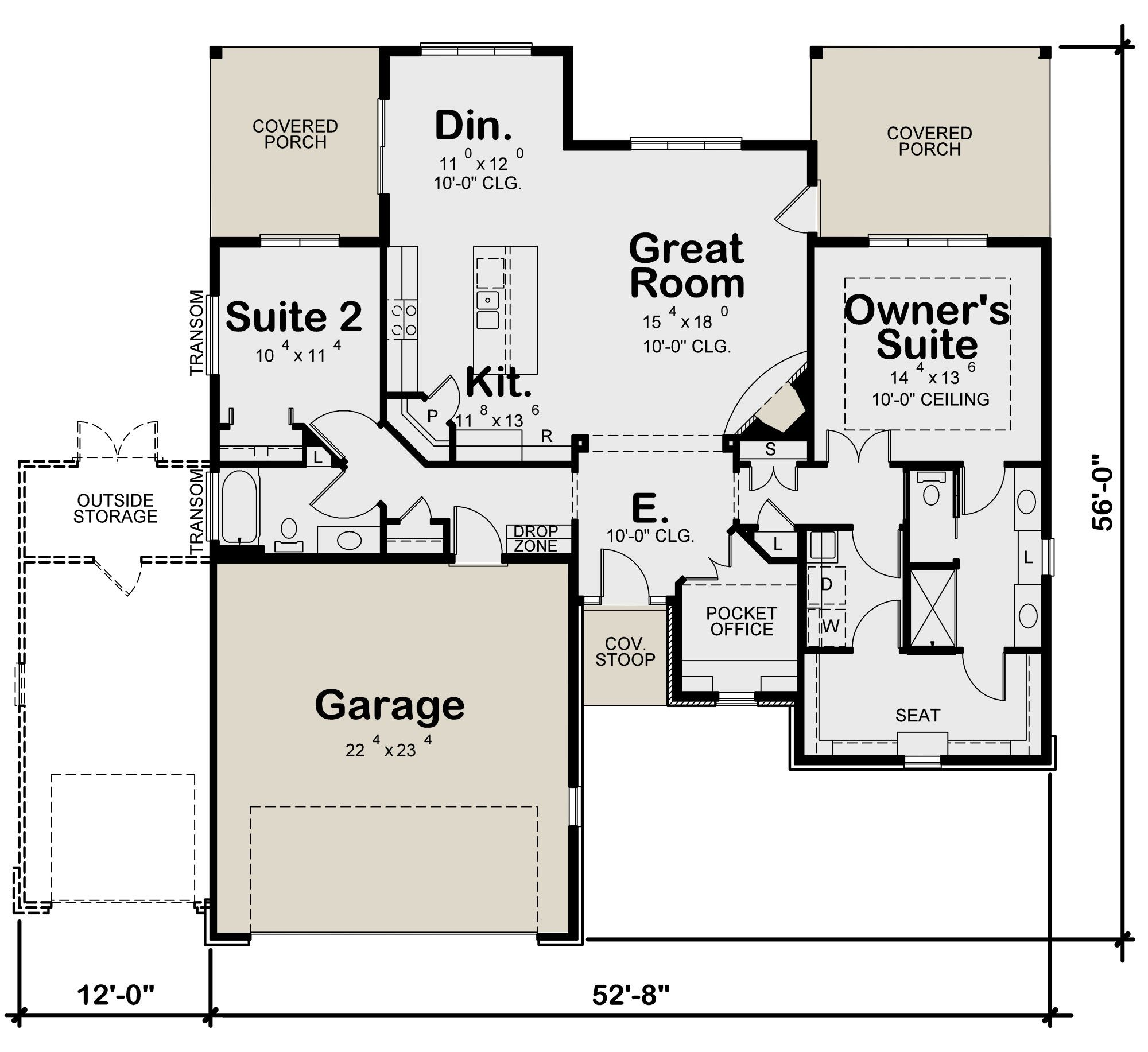 House Plan 402 01584 Craftsman Plan 1 595 Square Feet 2 Bedrooms 2 Bathrooms With Images Rustic House Plans Craftsman Style House Plans Craftsman House Plans