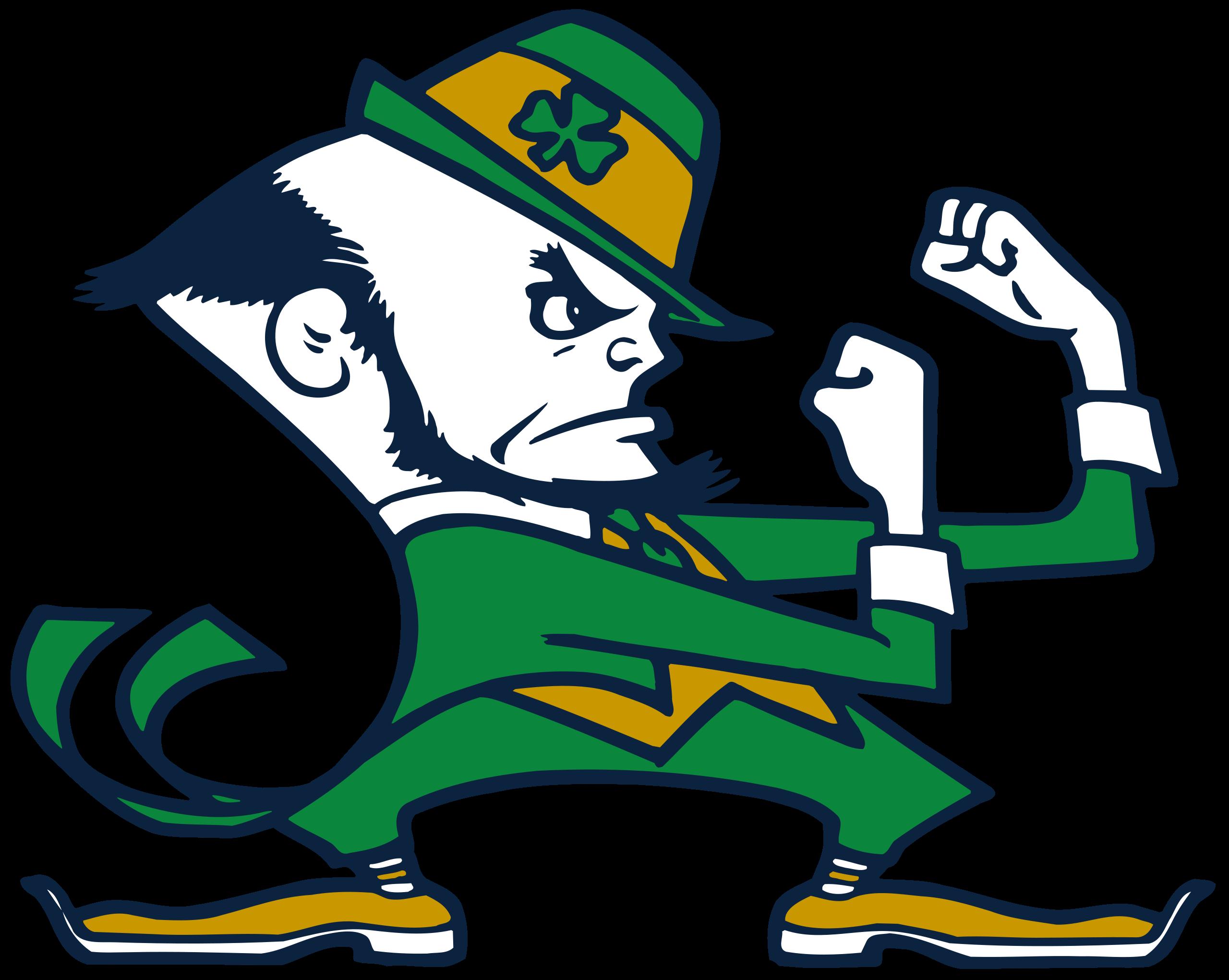 Notre Dame Leprechaun Logo Notre Dame Leprechaun Wikipedia In 2021 Fighting Irish Logo Notre Dame Leprechaun Fighting Irish Football