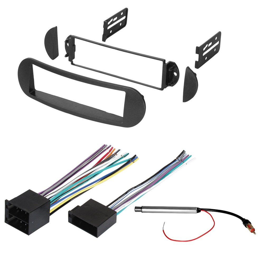 Car Stereo Radio Dash Installation Mounting Kit W Wiring Harness How To Install For And Antenna Adapter