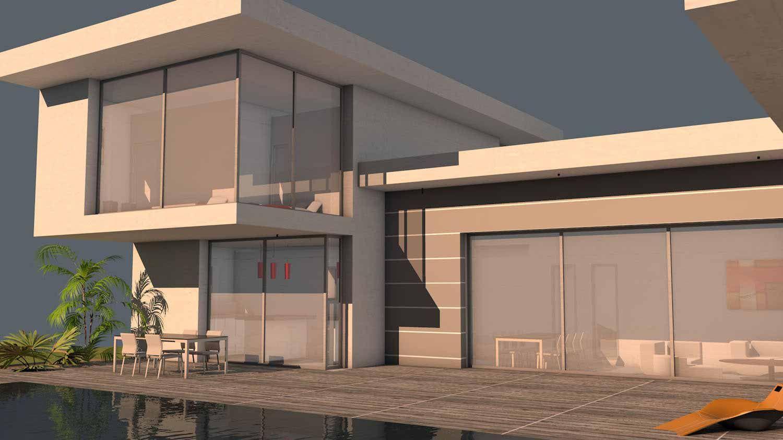 atelier d 39 architecture scenario maison contemporaine. Black Bedroom Furniture Sets. Home Design Ideas