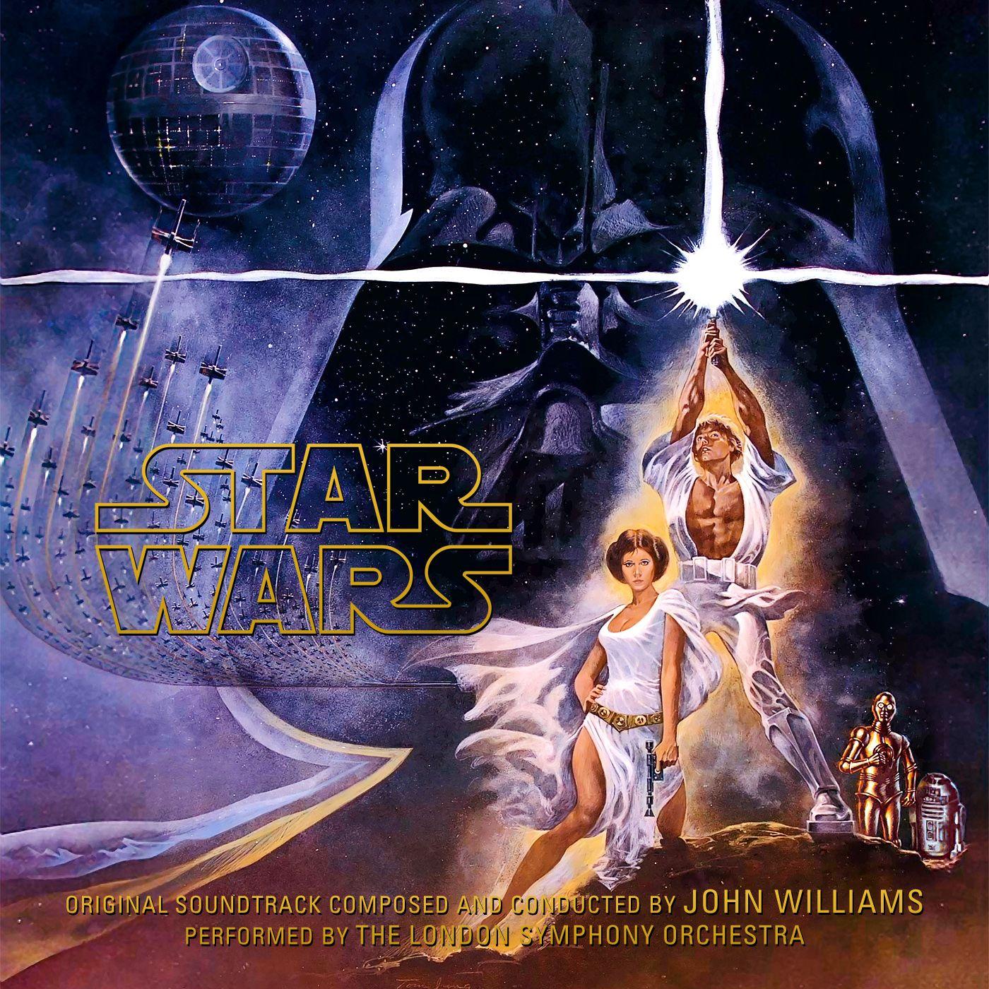 Star Wars A New Hope John Williams 1977 Album