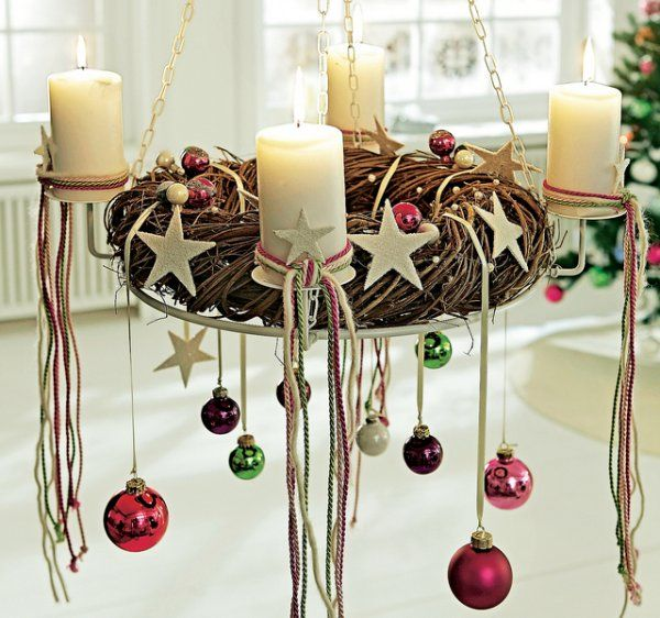 advent wreath - neat -  Not too late to send a Christmas card with a twist! http://personalise.colorblindcards.com/
