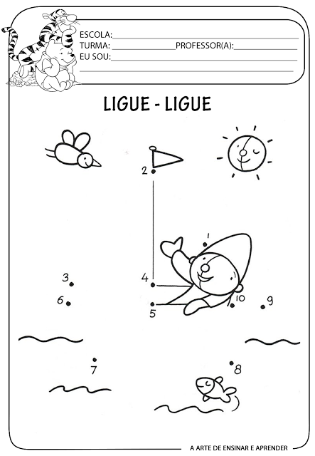Atividade Pronta Ligue Ligue Yv Atividades Para Educação