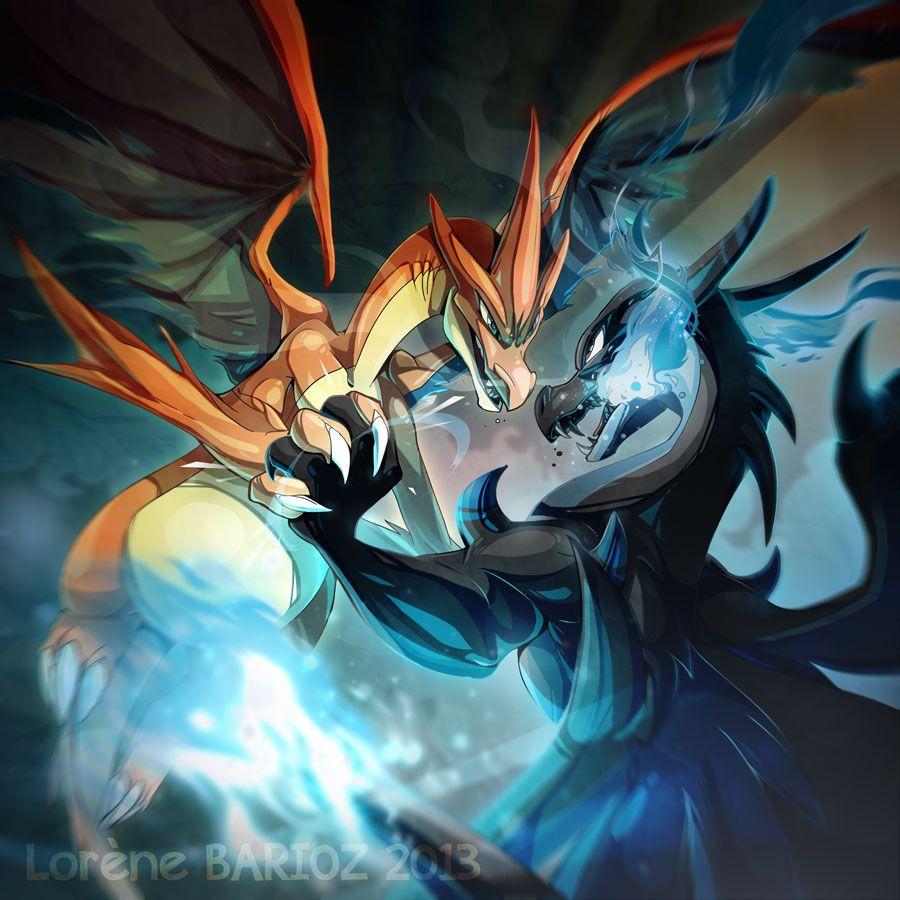 Mega Charizard X And Y By Dragibuz Deviantart Com On Deviantart