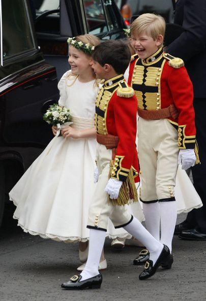 Page Boy Steals The Wedding Spotlight Lady Louise Windsor Royal Wedding Royal Wedding 2011