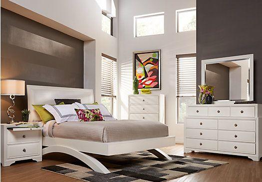 Belcourt White 5 Pc King Platform Bedroom . $1,199.99. Find ...