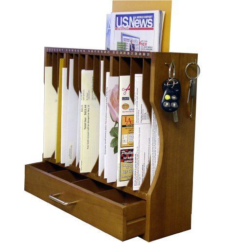 Axis 790 Personal Mail Post Organizer By Axis Home Storage Organization Mail Organizer Bill Organization