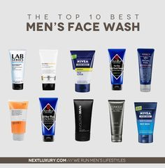 Best Face Wash For Men For 2020 Next Luxury Face Wash For Men Mens Face Wash Best Face Products