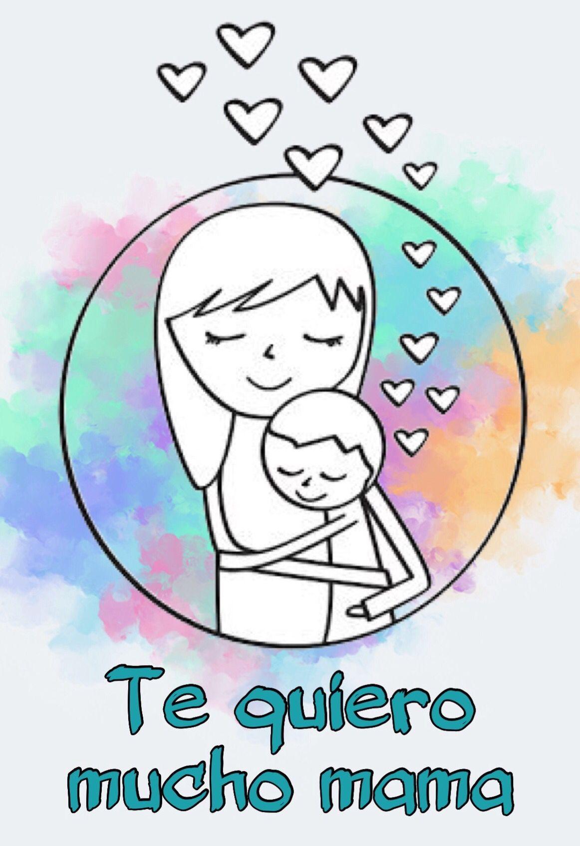 15 Mama E Hijo Abrazados Dibujo Para Mama Pintura De Madre E Hijo Besos Y Abrazos