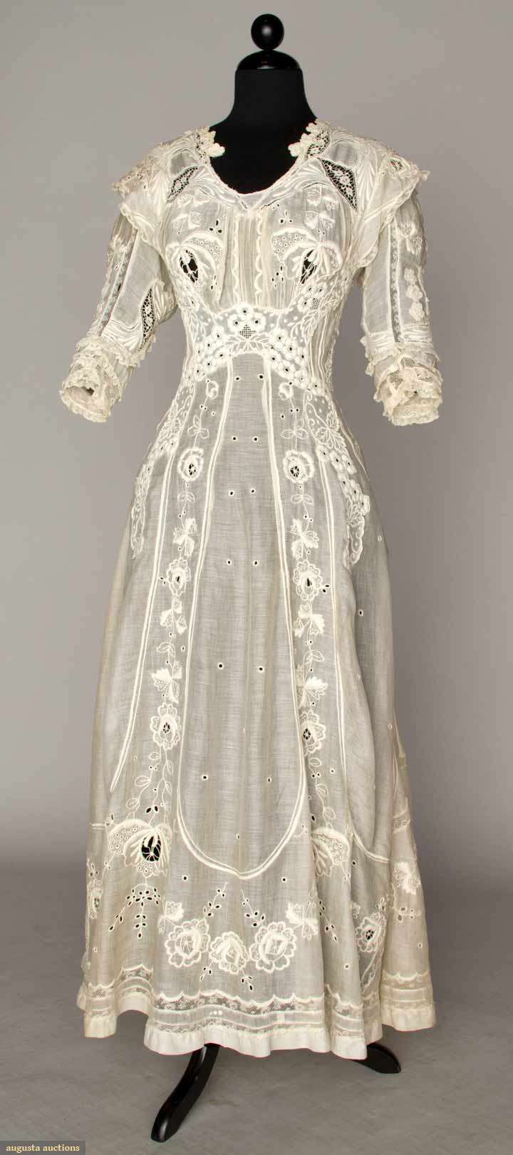 summer tea gown 1905-1910 I have a pink lawn gown very similar to ...