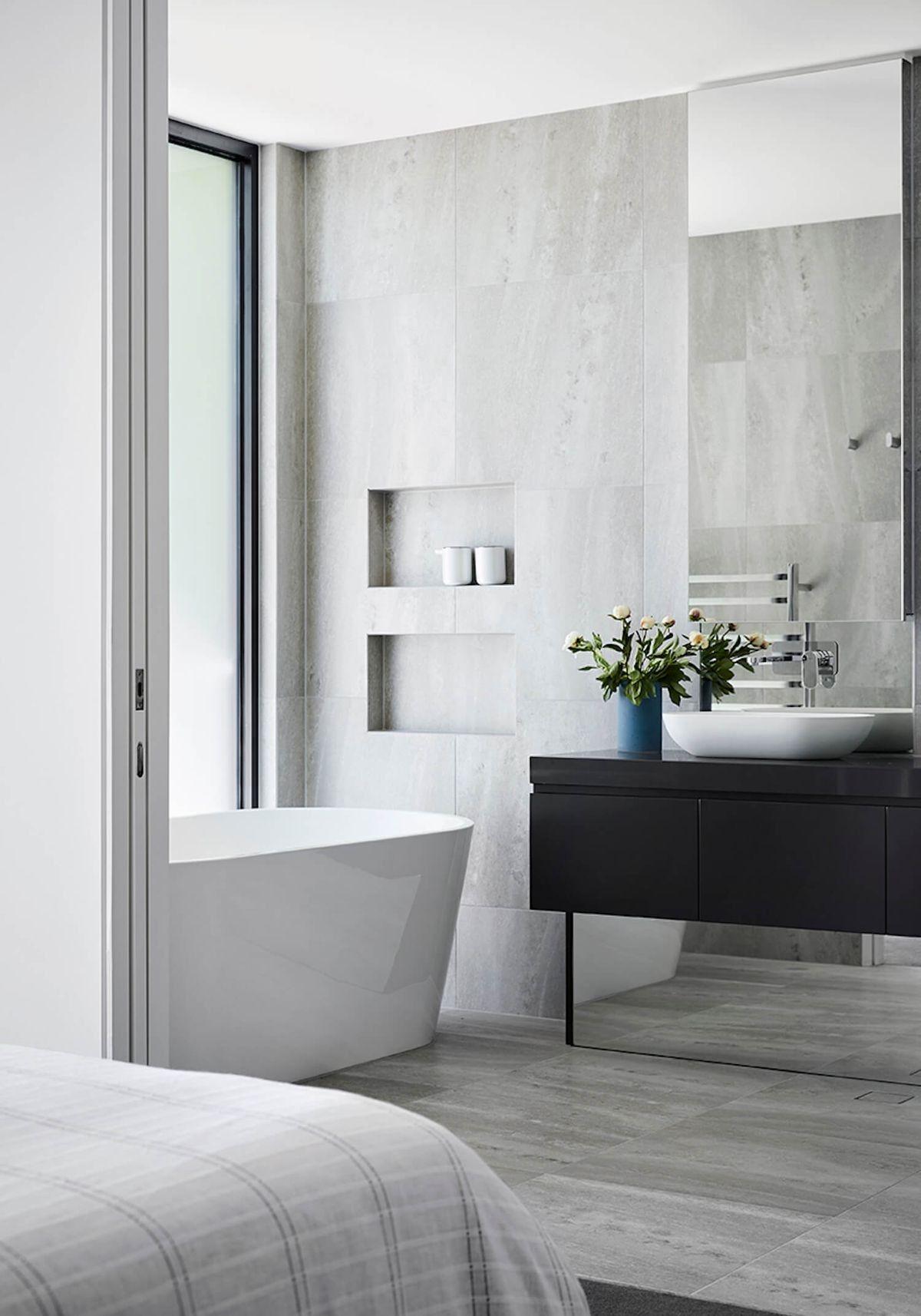 Come Ricavare Un Bagno In Camera Da Letto Guida Completa X Inesperti Interni Moderni Camera Da Letto Interior Design Bagno In Camera