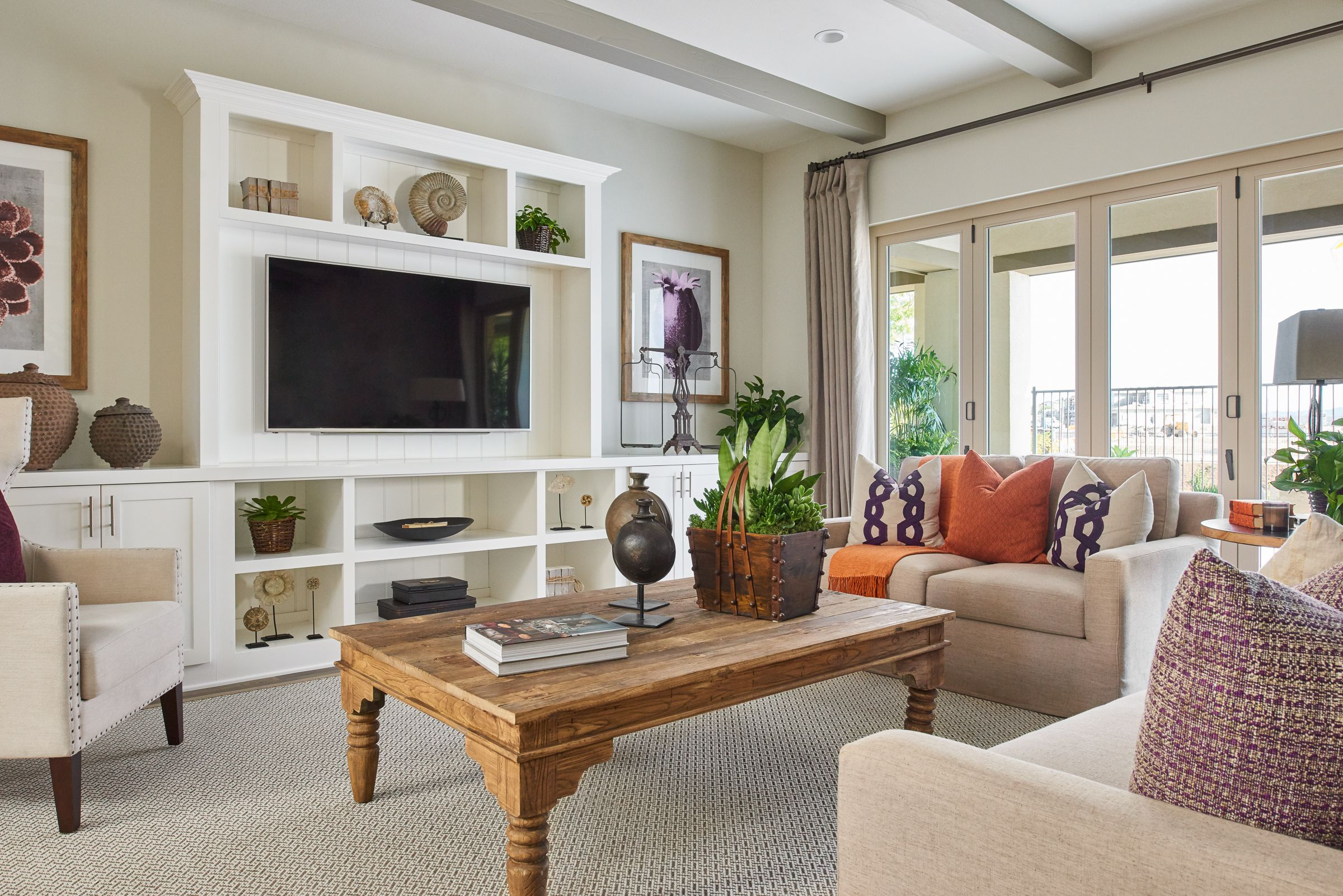 Master bedroom entertainment centers  Residence One at Briosa at Rancho Mission Viejo WilliamLyonHomes