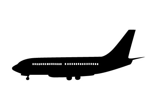 Airplane Silhouette Vector Free Download Airplane Silhouette Silhouette Vector Silhouette Clip Art