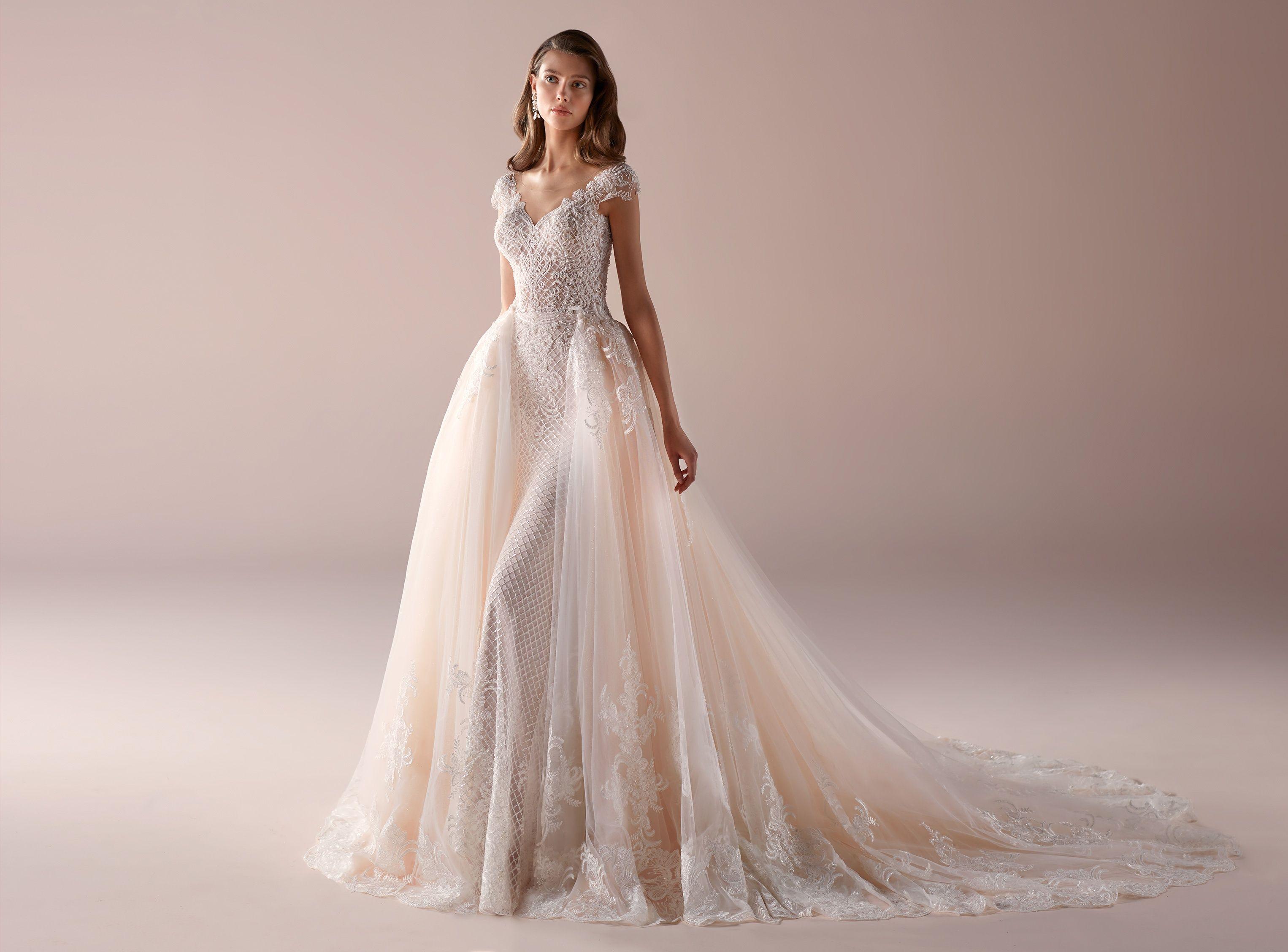 Abiti Da Sposa Immagini.Moda Sposa 2019 Collezione Romance Roab19808 Abito Da Sposa