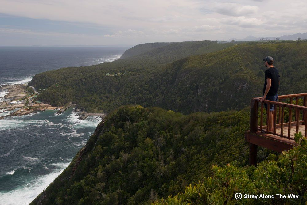 Storms River Mouth in the Tsitsikamma Section of the