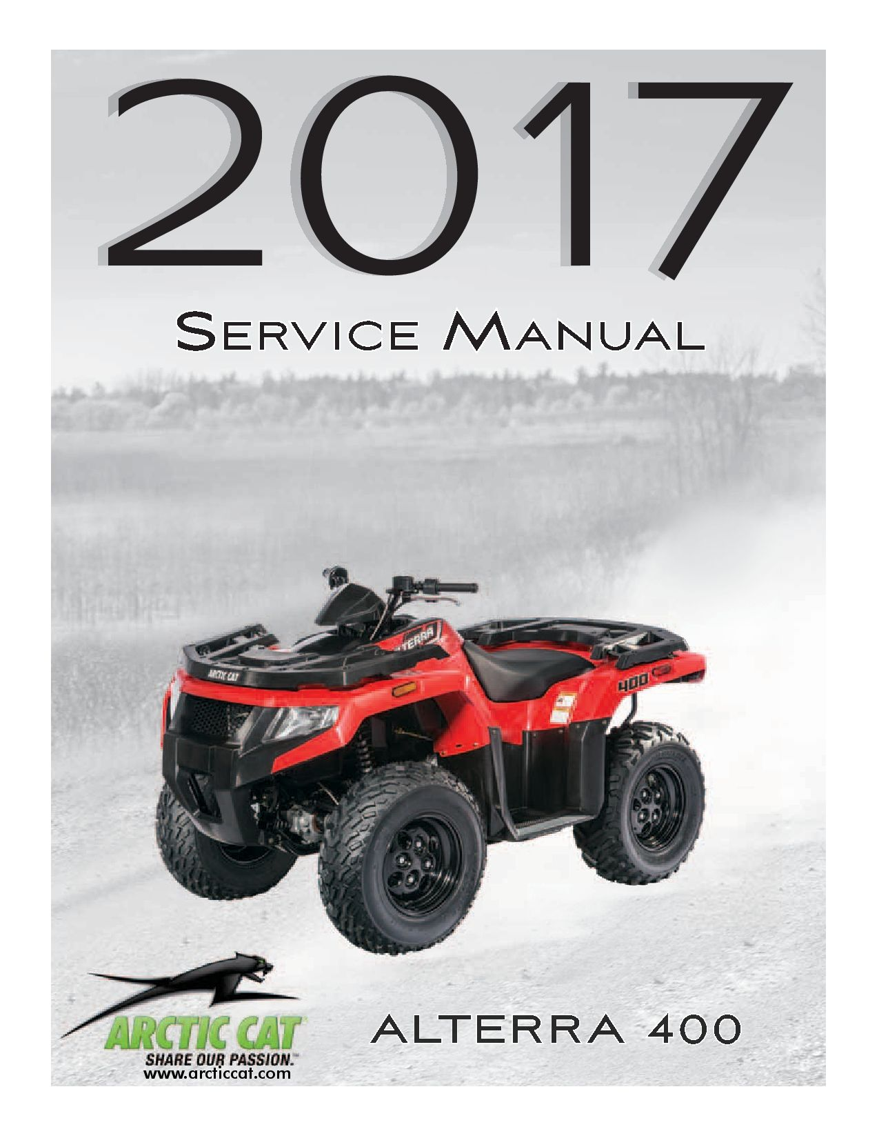 Arctic Cat 2017 Alterra 400 Service Manual Pdf Download Service Manual Repair Manual Pdf Download Repair Manuals Pdf Download Manual