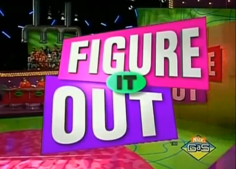 Figure It Out (1997) (With images) Nickelodeon game
