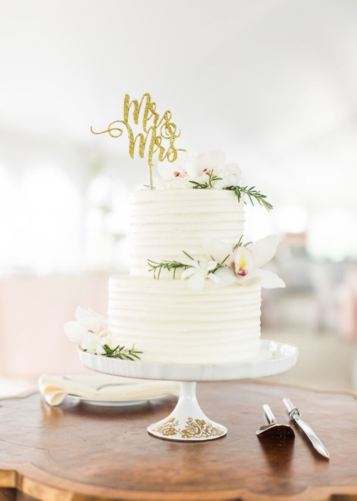 most delicious wedding cake! from a bakery called the sugar path