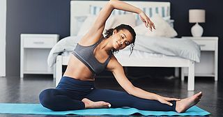7 gentle workouts you can do before bed that may just help