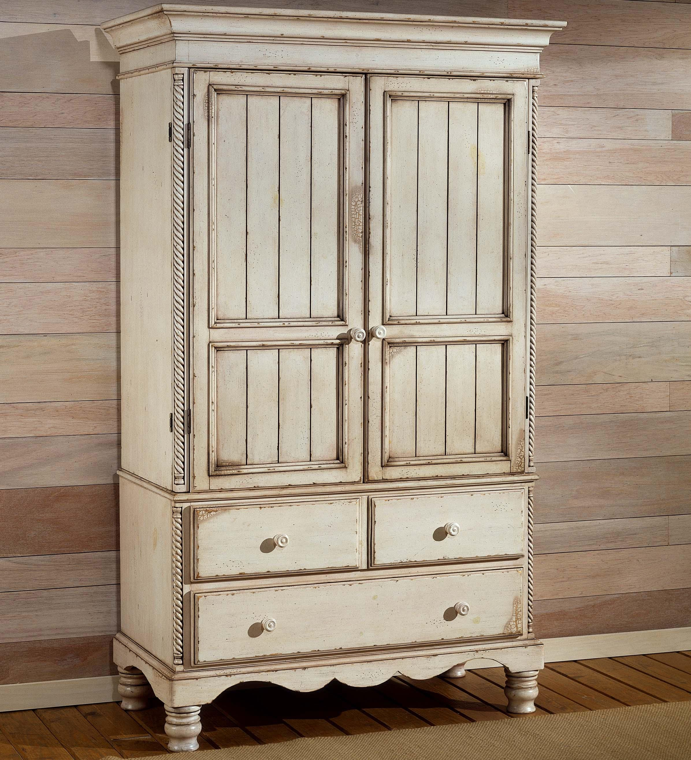 Hillsdale Wilshire Bedroom Armoire W/ 2 Doors   Wayside Furniture   Armoire  Akron, Cleveland