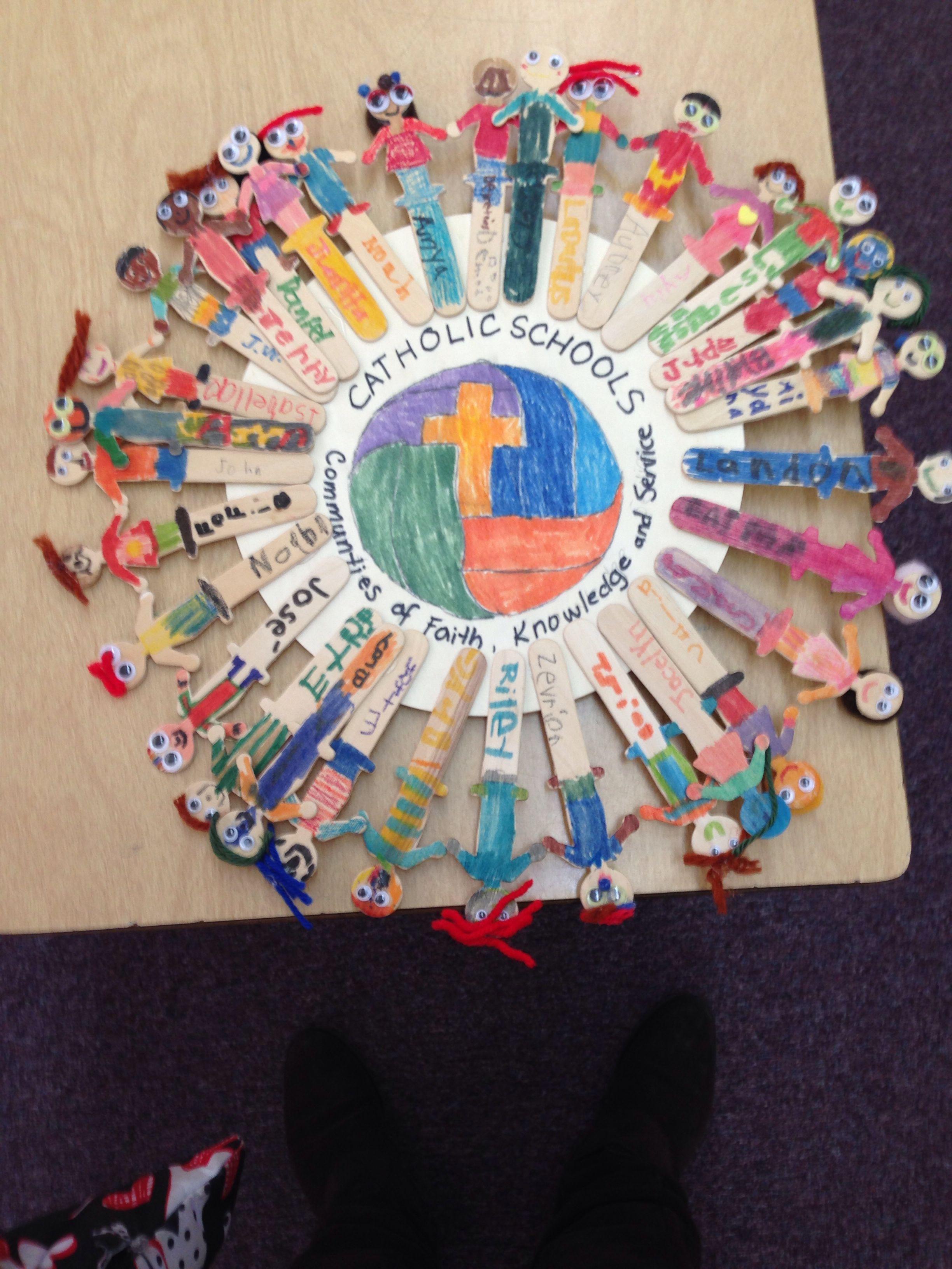 Classroom Decorating Ideas Elementary ~ Catholic schools week gift to priest
